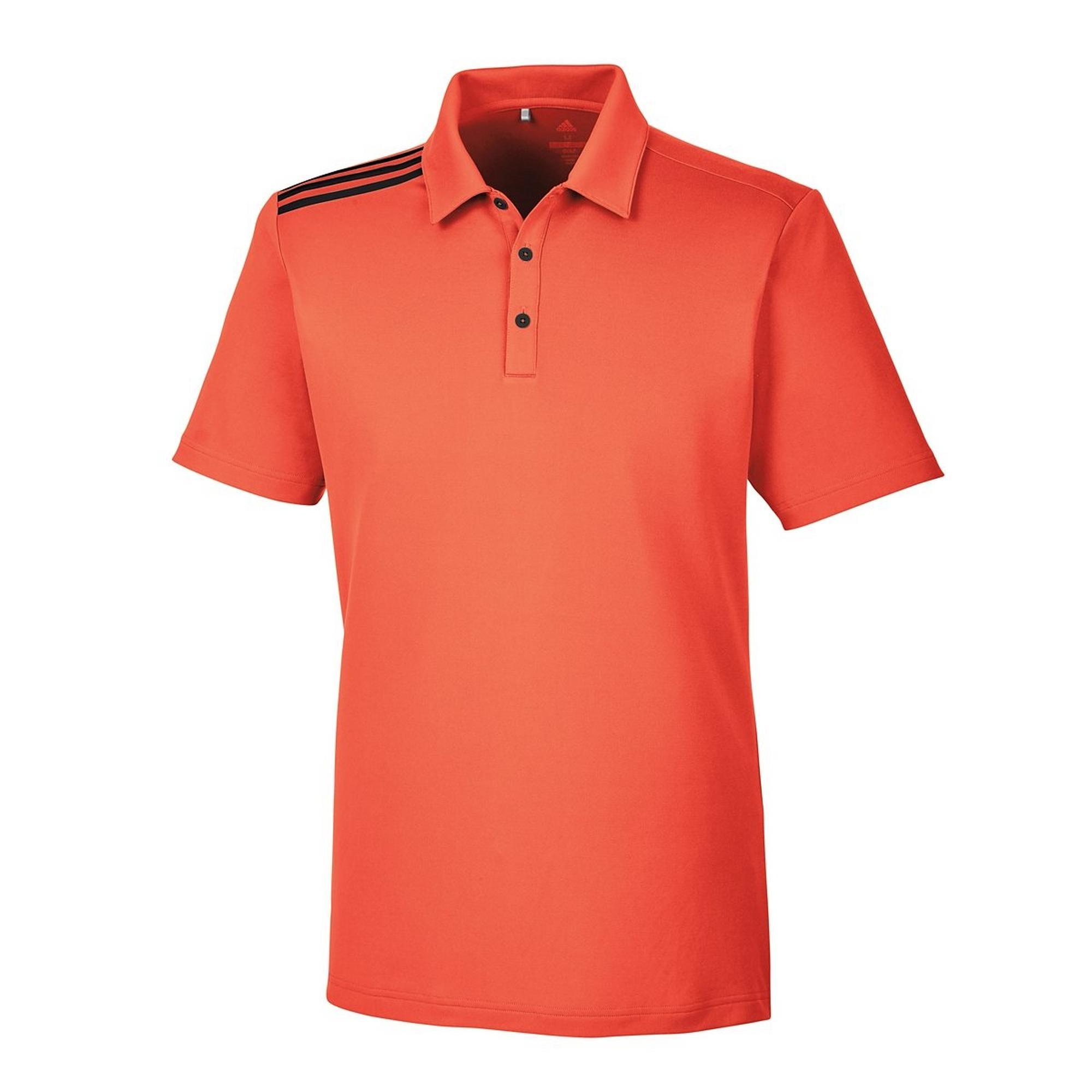 Men's 3-Stripe Short Sleeve Polo