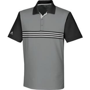 Men's Ultimate 365 3-Stripe Engineered Short Sleeve Polo