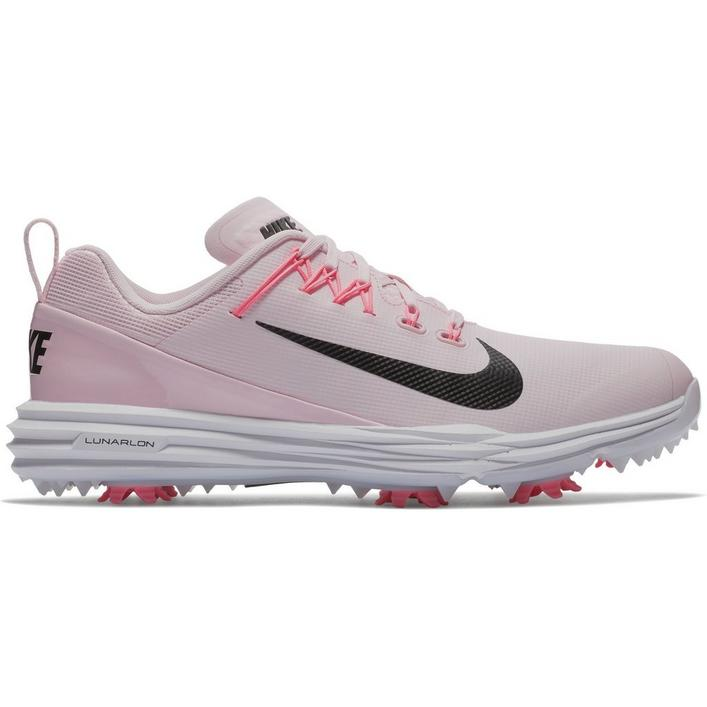 Womens Lunar Command 2 Spiked Golf Shoe - PNK