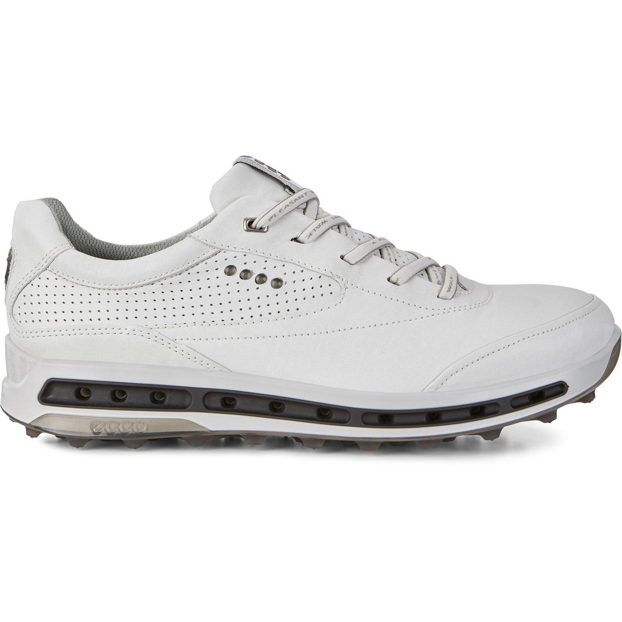 Chaussures Goretex Cool Pro sans crampons pour hommes – Blanc/Noir