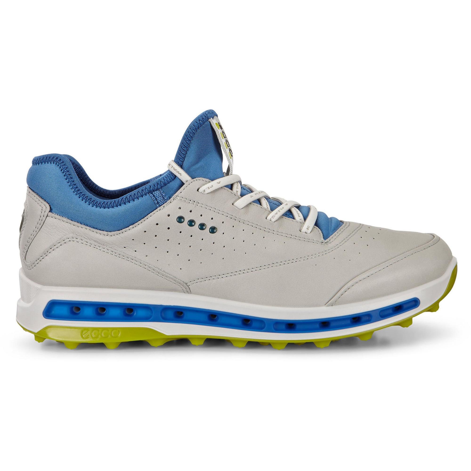 Men's Goretex Cool Pro Spikeless Golf Shoe - GRY/GRN