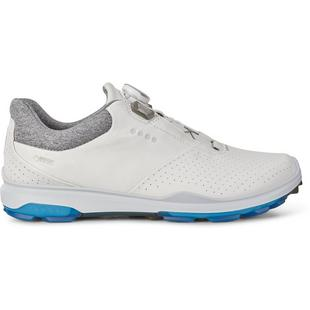 Chaussures Goretex Biom Hybrid 3 Boa sans crampons pour hommes – Blanc/Bleu