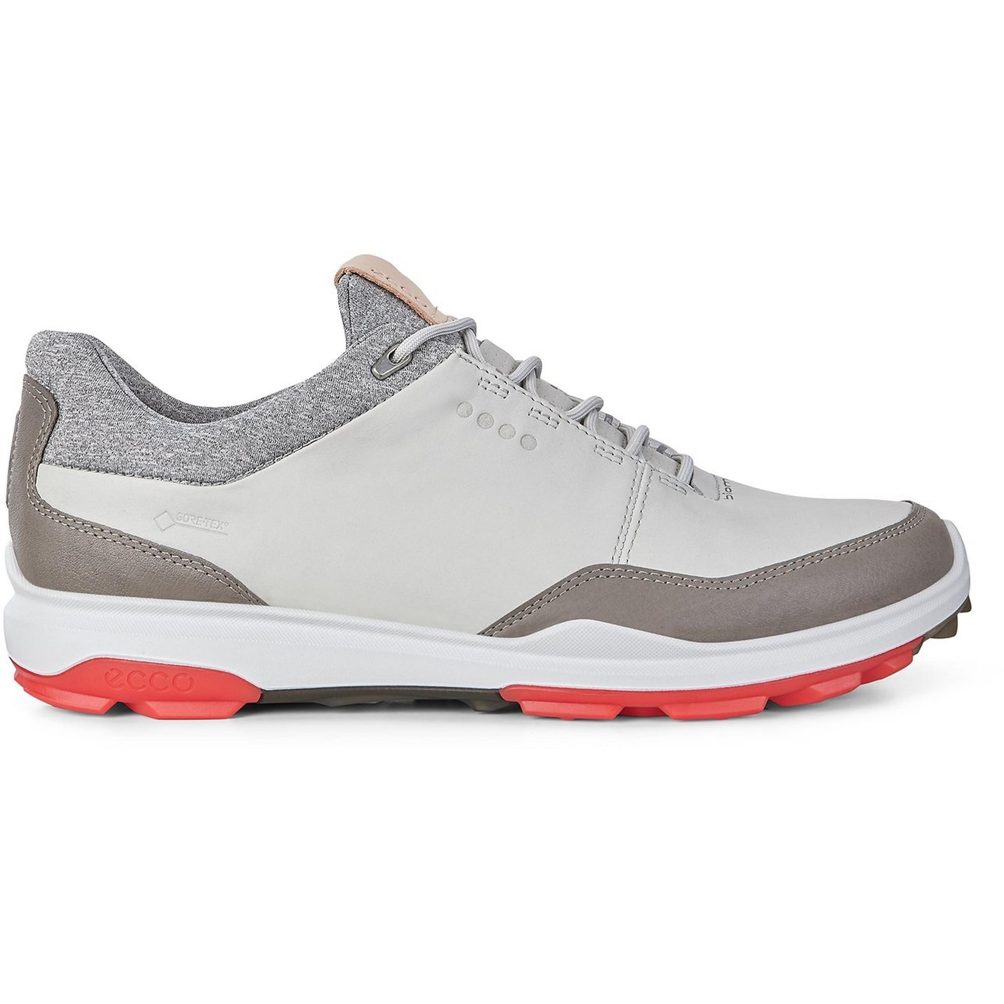 Mens Goretex Biom Hybird 3 Spikeless Golf Shoe - GRY/RED