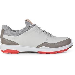 Chaussures Goretex Biom Hybrid 3 sans crampons pour hommes – Gris/Rouge