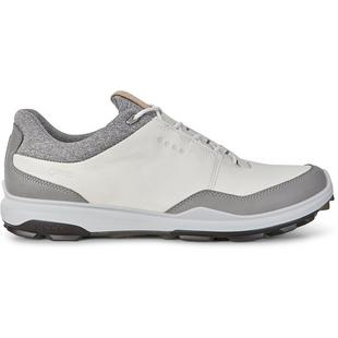 Mens Goretex Biom Hybird 3 Spikeless Golf Shoe - WHT/BLK