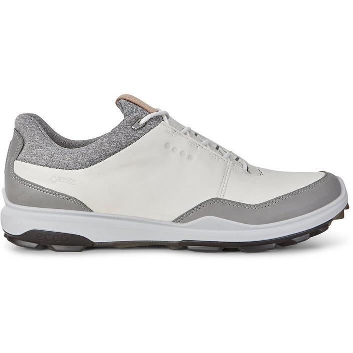 Mens Goretex Biom Hybrid 3 Spikeless Golf Shoe - WHT/BLK