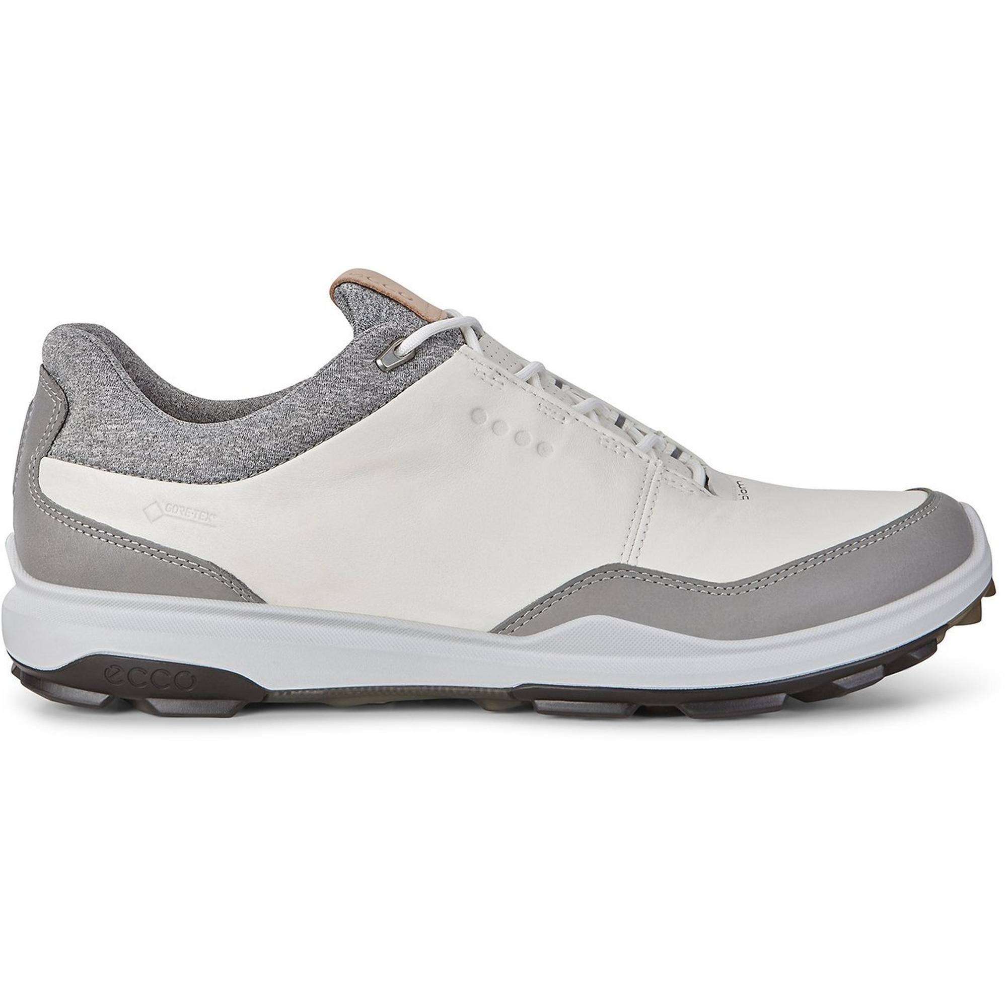 Men's Goretex Biom Hybrid 3 Spikeless Golf Shoe – WHT/BLK