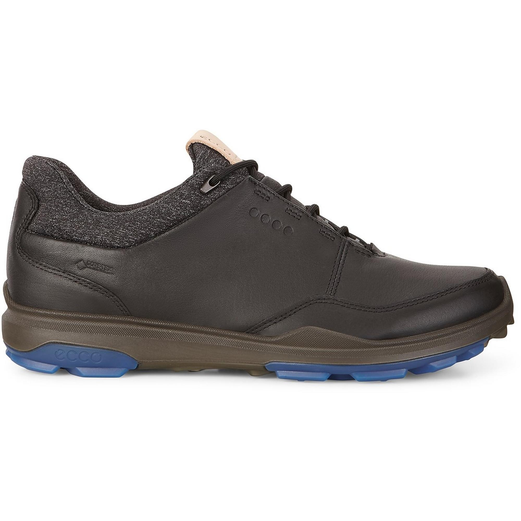 Chaussures Goretex Biom Hybrid 3 sans crampons pour hommes – Noir/Bleu
