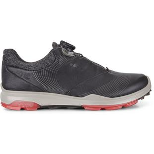 Womens Goretex Biom Hybrid 3 Boa Spikeless Golf Shoe  -BLK/PNK