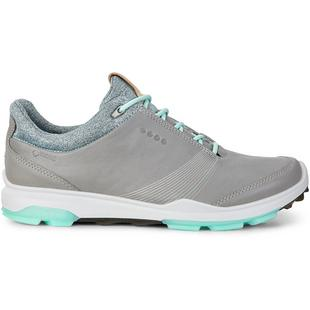 Womens Goretex Biom Hybird 3 Spikeless Golf Shoe - GRY/GRN