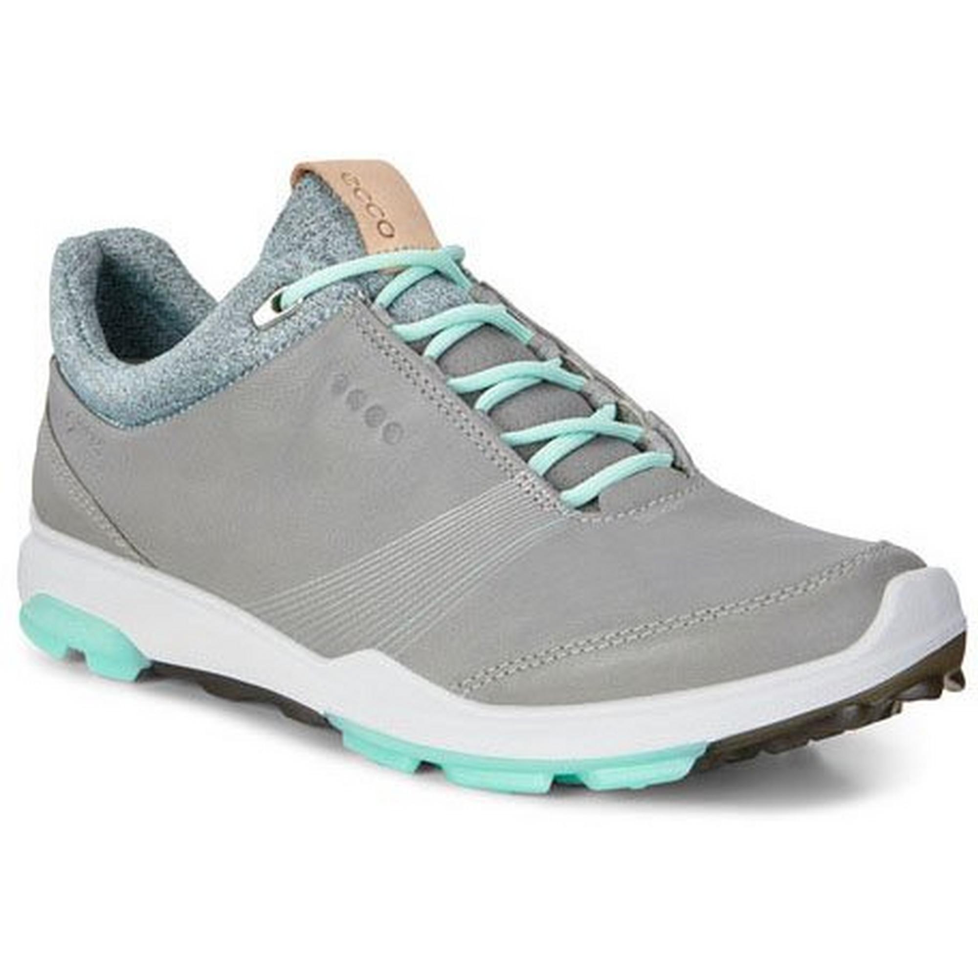 Womens Goretex Biom Hybird 3 Spikeless Golf Shoe - GRY/GRN