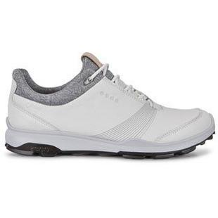 Womens Goretex Biom Hybird 3 Spikeless Golf Shoe - WHT/BLK