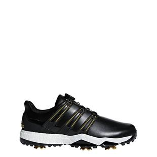 Mens Powerband Boa Boost Spiked Golf Shoe - BLK