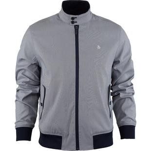 Men's Alpha Harrington Oxford Woven Jacket