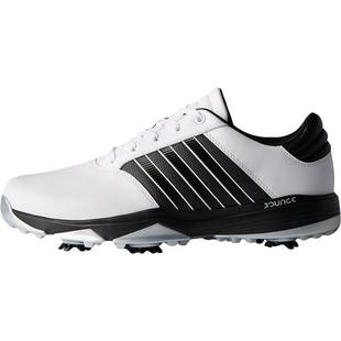 Men's 360 Bounce Spiked Golf Shoe - WHT