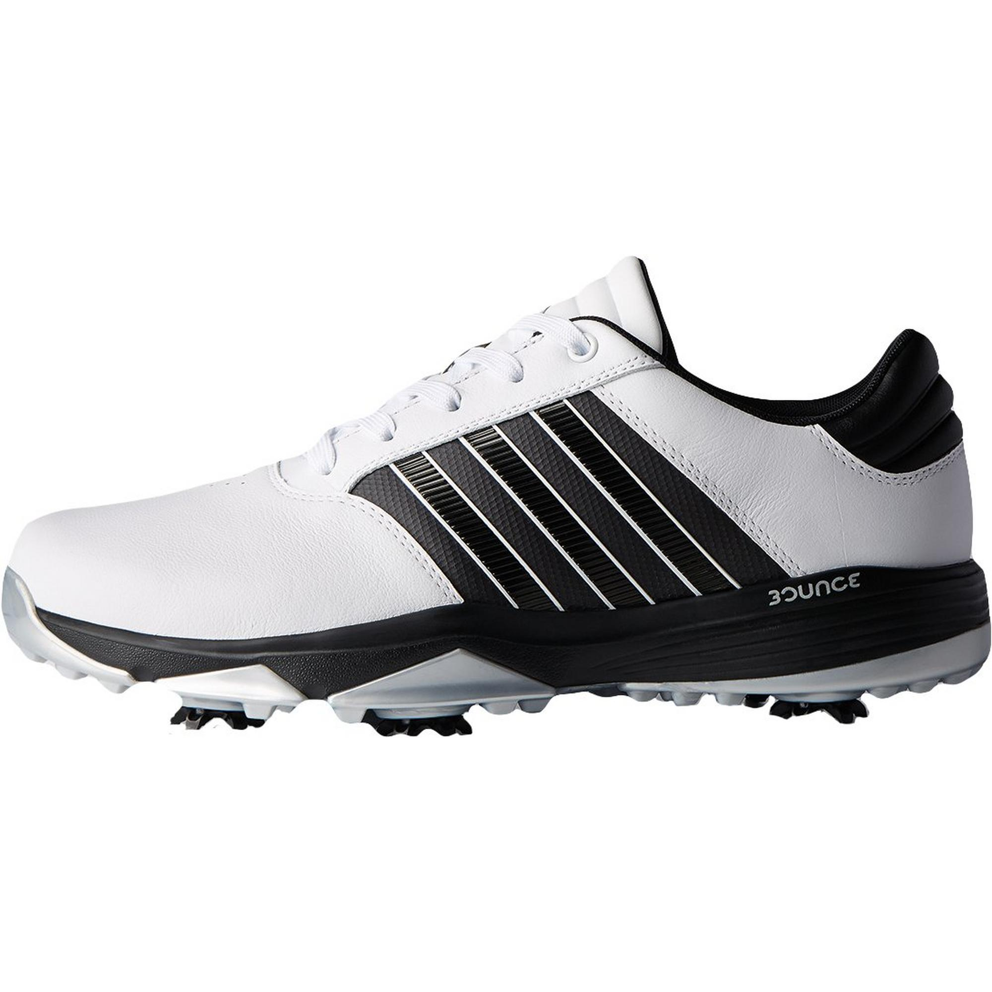 Men's 360 Bounce Spiked Golf Shoe - White