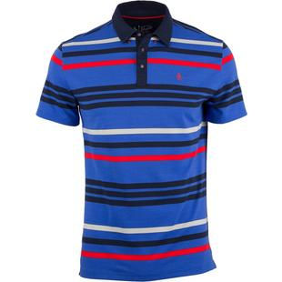 Men's The 78 Stripe Short Sleeve Polo
