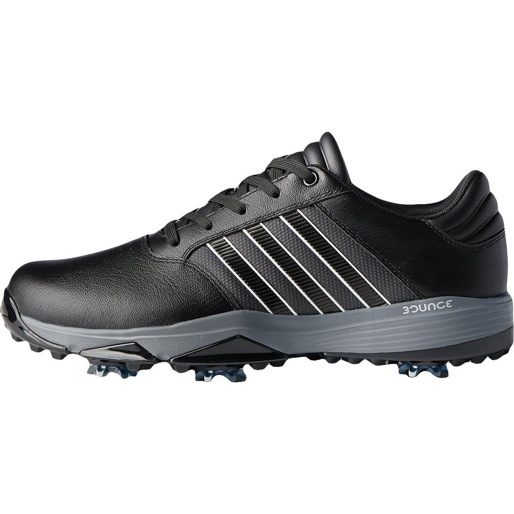 Men's 360 Bounce Spiked Golf Shoe - Black