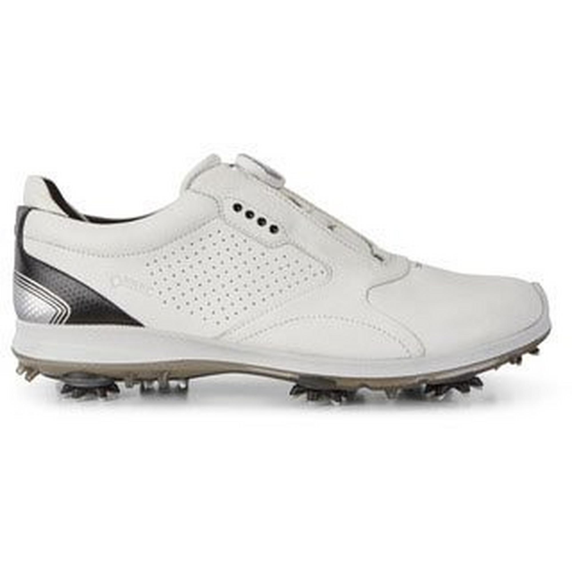 Chaussures Biom G2 2018 à crampons pour hommes – Blanc/Noir