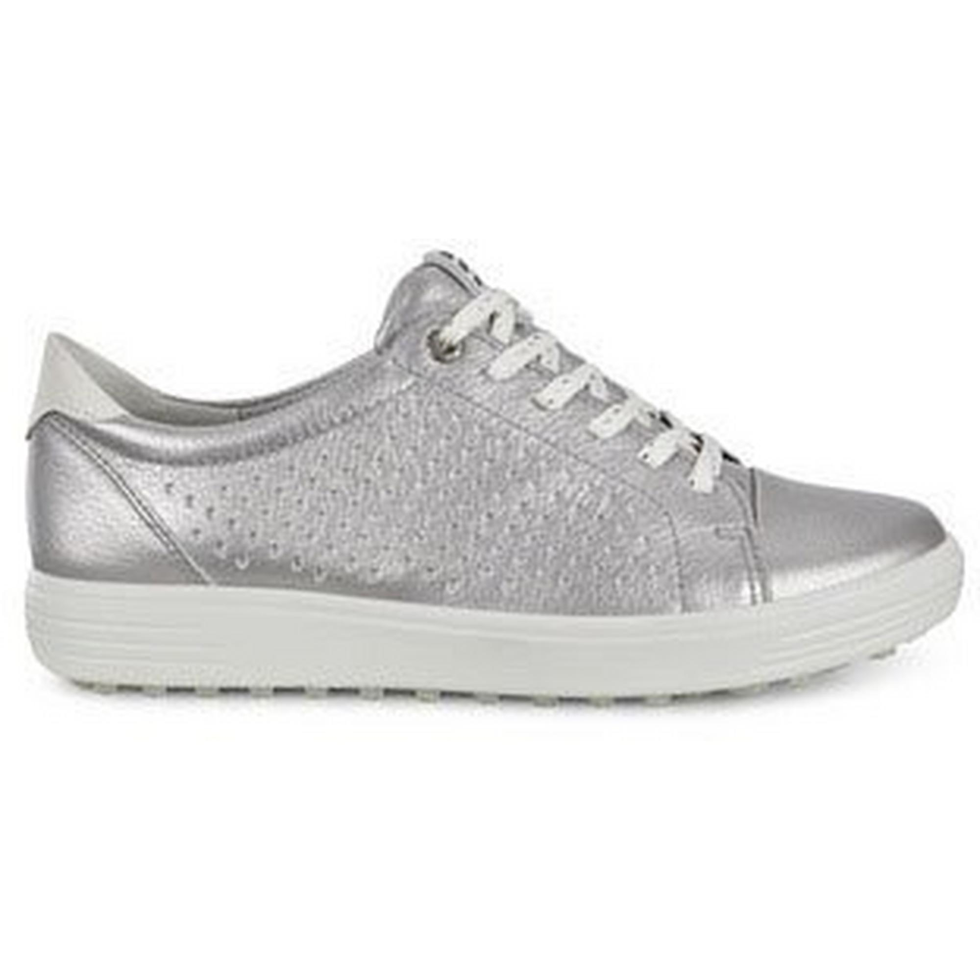 Women's Casual Hybrid Spikeless Golf Shoe - SIL/SIL