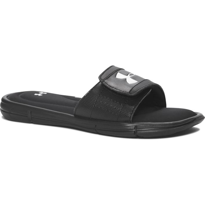 Juniors Ignite V Slide Sandal - BLK/WHT