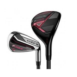 Women's F-MAX 5H, 6H, 7-PW, SW Combo Iron Set with Graphite Shafts
