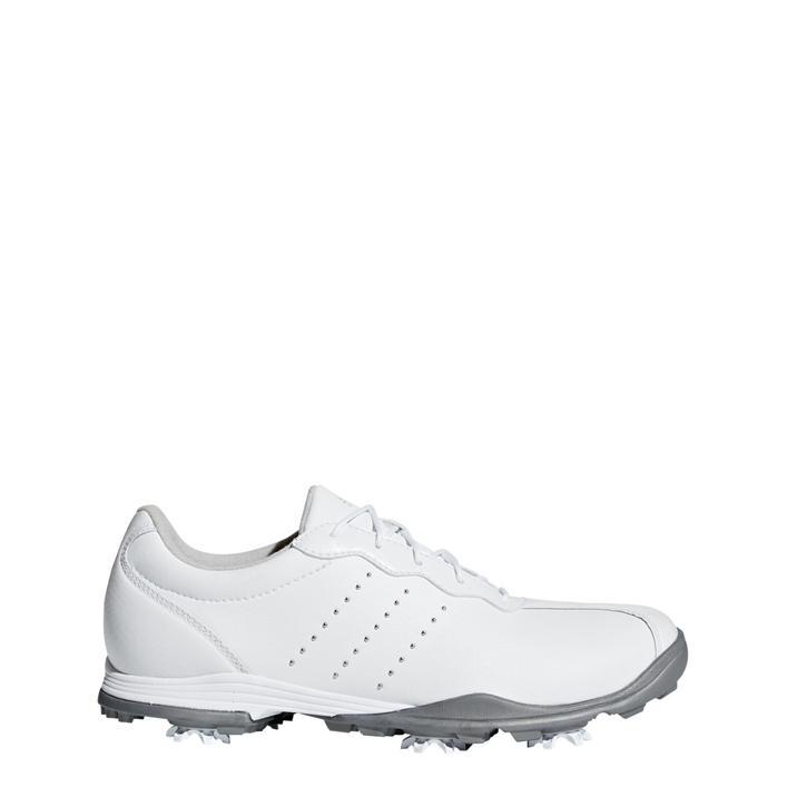 Chaussures Adipure Tour à crampons pour femmes - Blanc/Argent