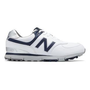 Men's 574 Spikeless Golf Shoe - WHT/NVY