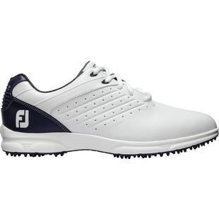Men's Arc Spikeless Golf Shoe - WHT/NVY