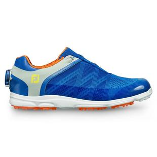 Women's Sport SL Boa Spikeless Golf Shoe - BLU/ORNG