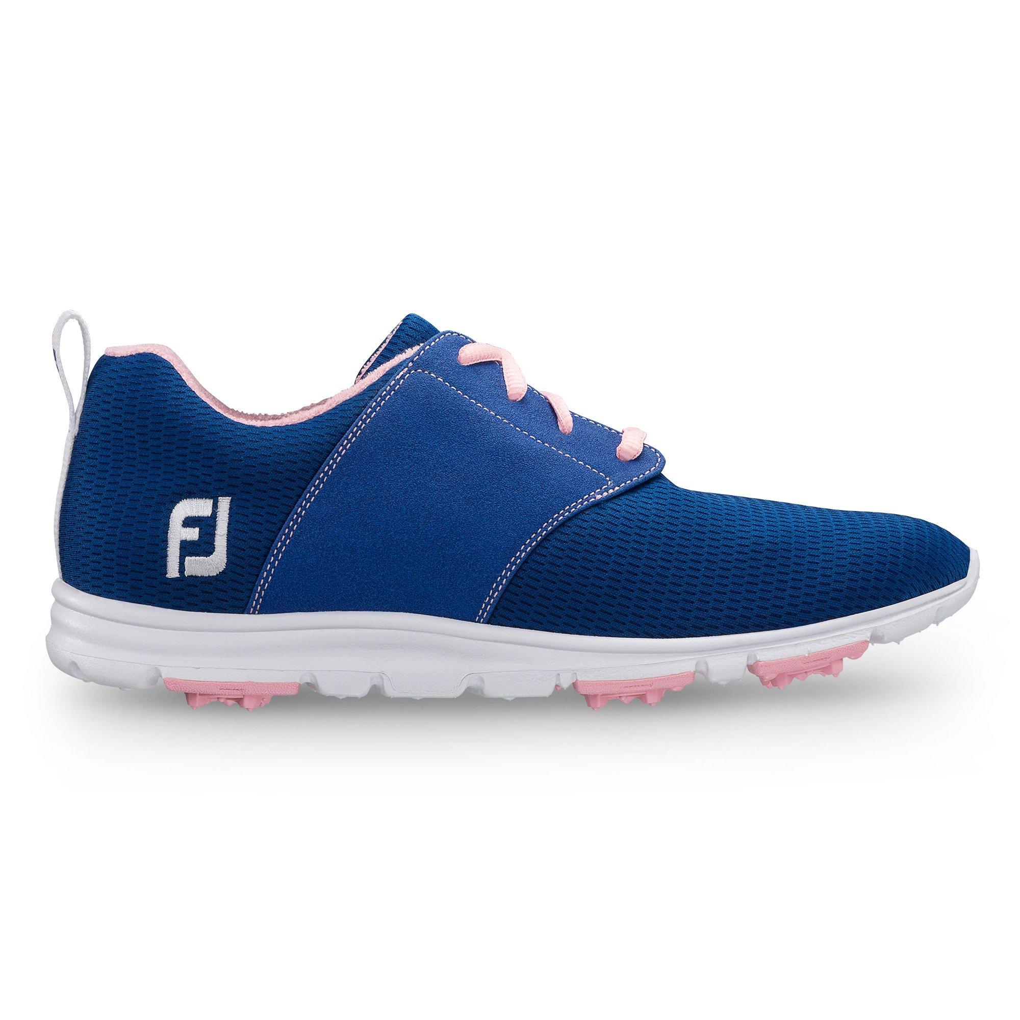Women's Enjoy Spikeless Golf Shoe - BLU/PNK