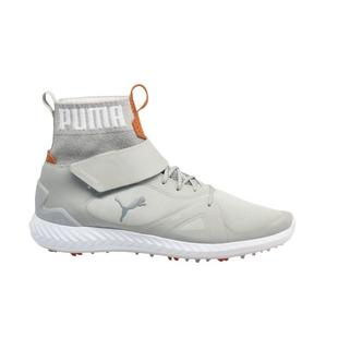Men's Ignite Poweradapt Tour HI Spiked Golf Shoe - WHT/SIL