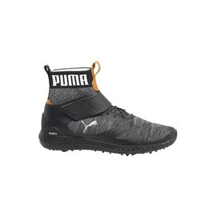 Men's Ignite Poweradapt Tour HI Spiked Golf Shoe - BLK/SIL