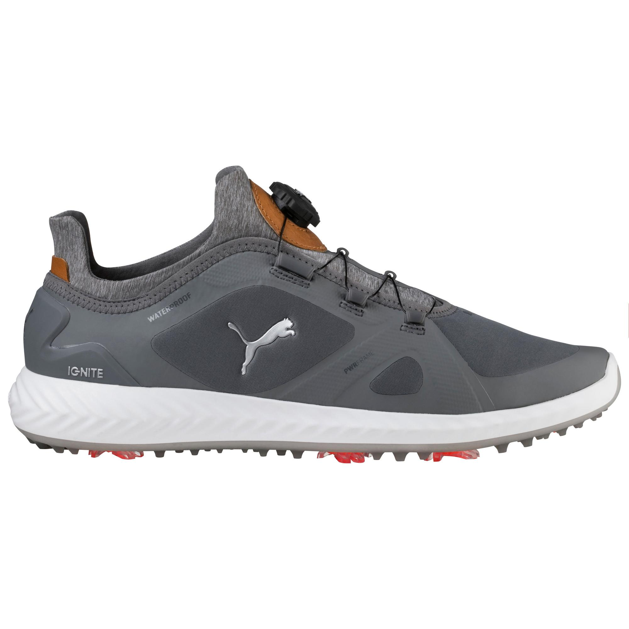 Men's Ignite Poweradapt Disc Spiked Golf Shoe - LTGRY