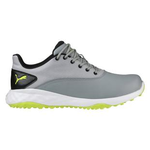 Men's Grip Fusion Spikeless Golf Shoe - GRY/GRN