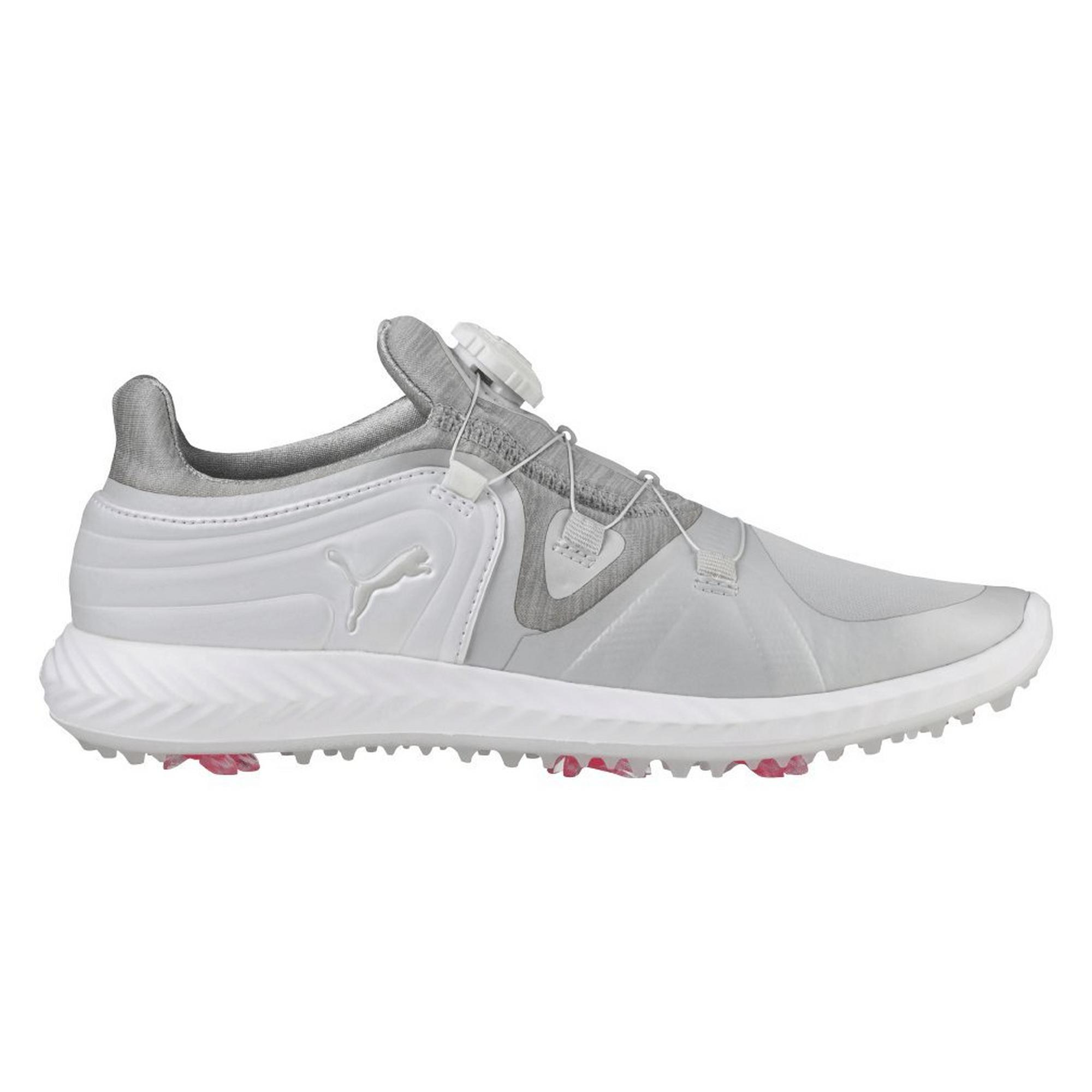 Women's Ignite Blaze Sport Disc Spiked Golf Shoe - WHT