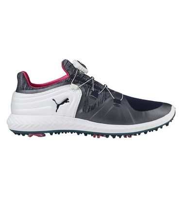 Womens Ignite Blaze Sport Disc Spiked Golf Shoe - WHT NVY   Golf Town  Limited 5077da6dfb4d