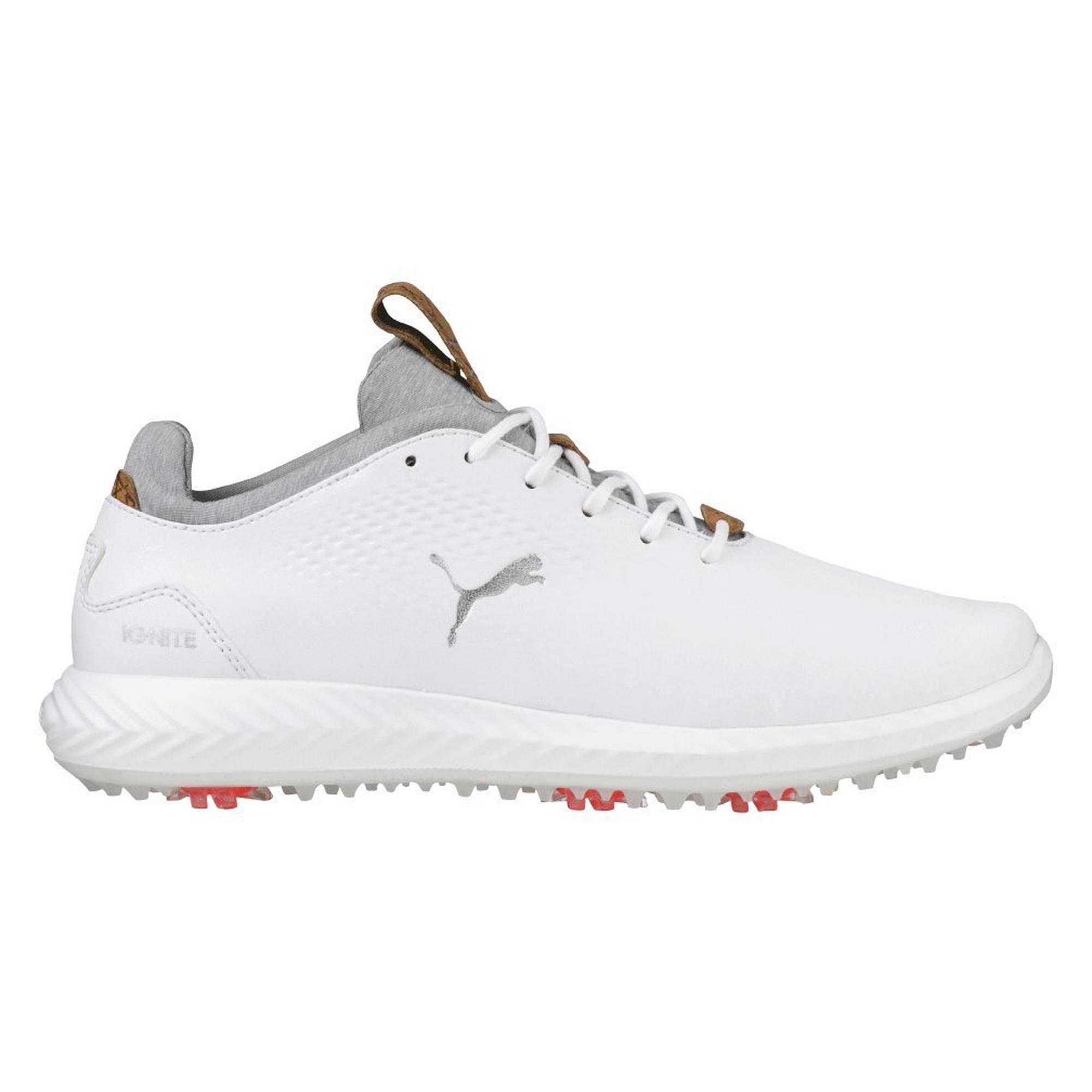 Junior Ignite Poweradapt Spiked Golf Shoe - WHT