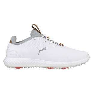 Junior's Ignite Poweradapt Spiked Golf Shoe - WHT