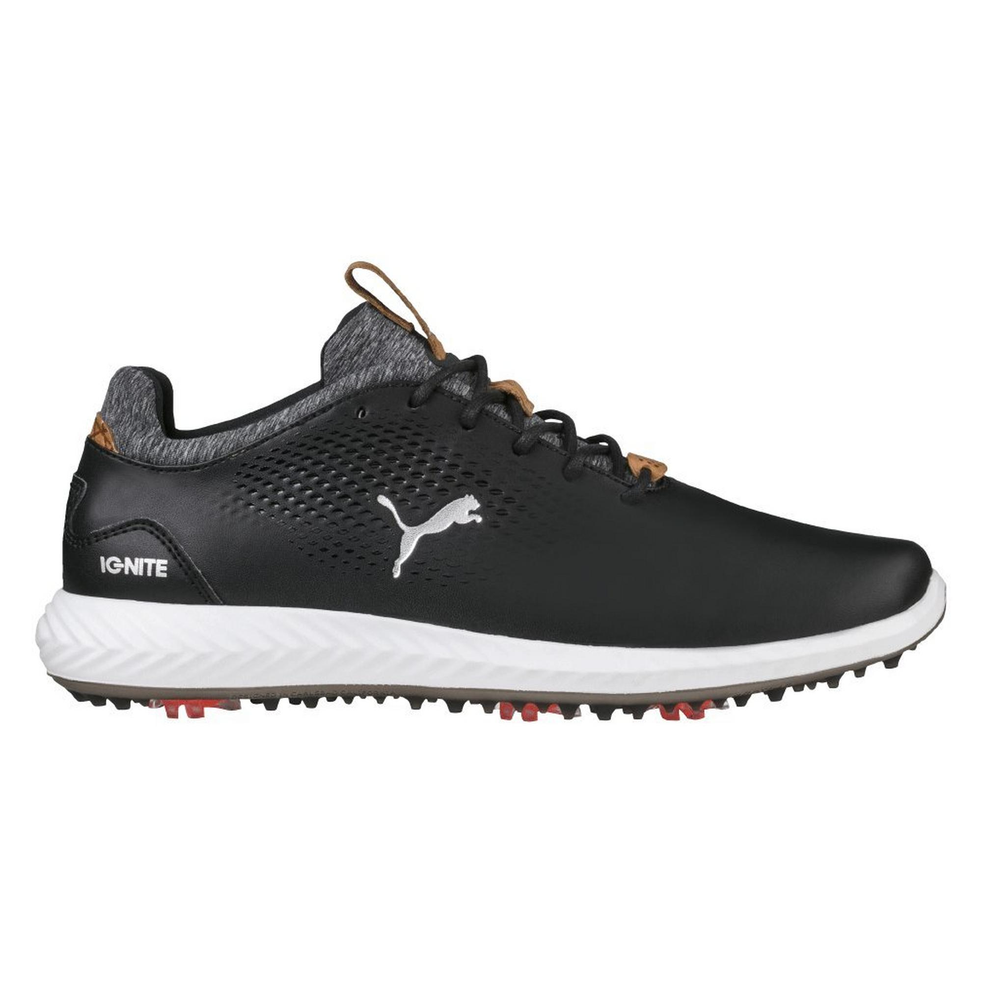 Junior Ignite Poweradapt Spiked Golf Shoe - BLK