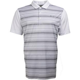 Men's Par Stripe Short Sleeve Polo