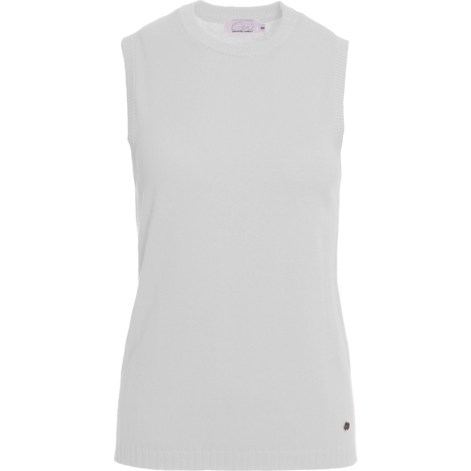 Women's Pearl Sleeveless Knit Top