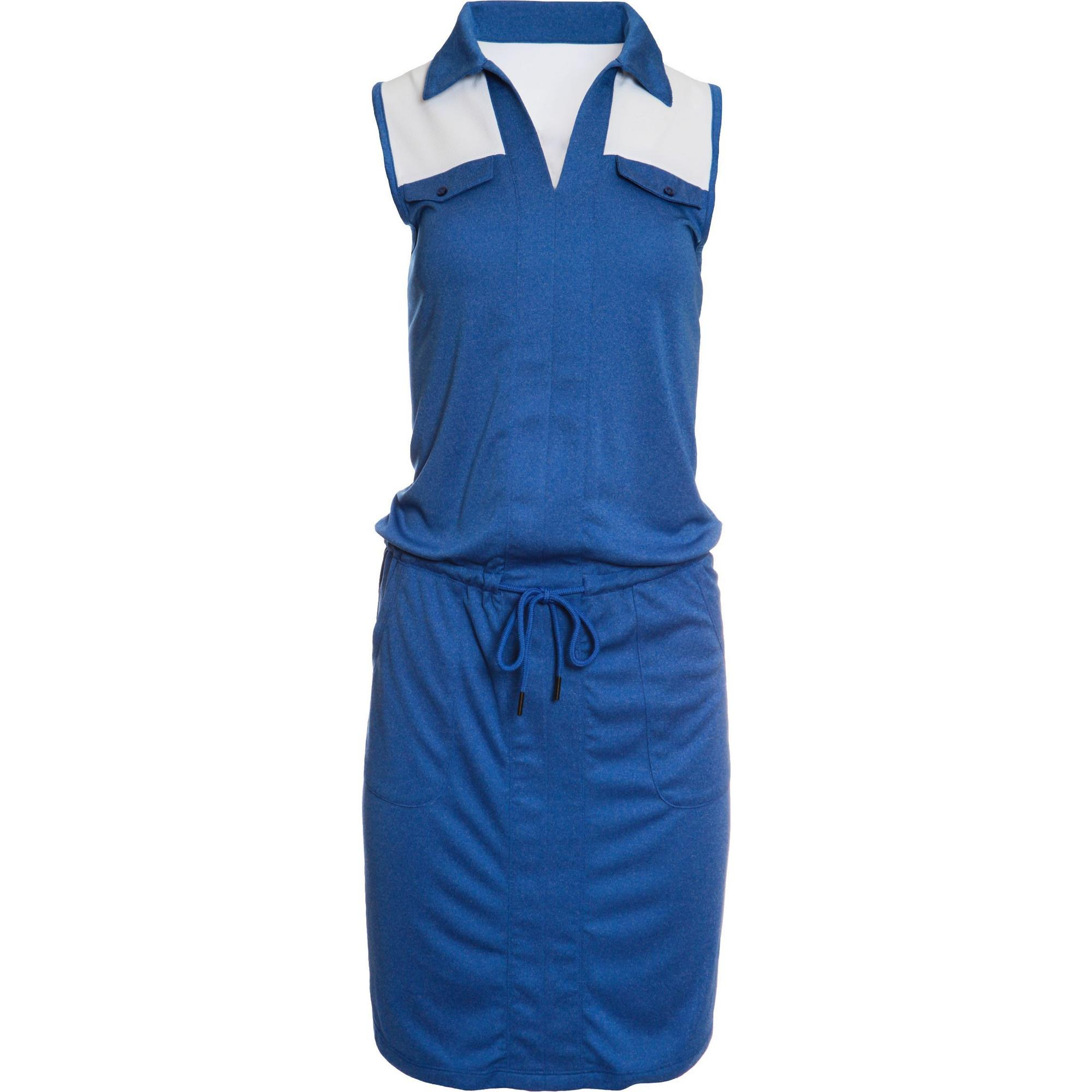 Women's Jewel Sleeveless Drawstring Dress