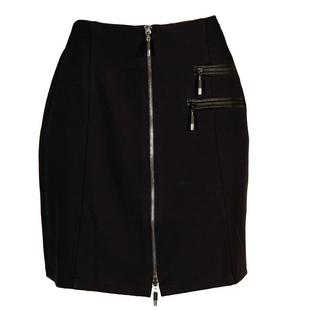 Women's Ponte 18 Inch Front Zip Skirt