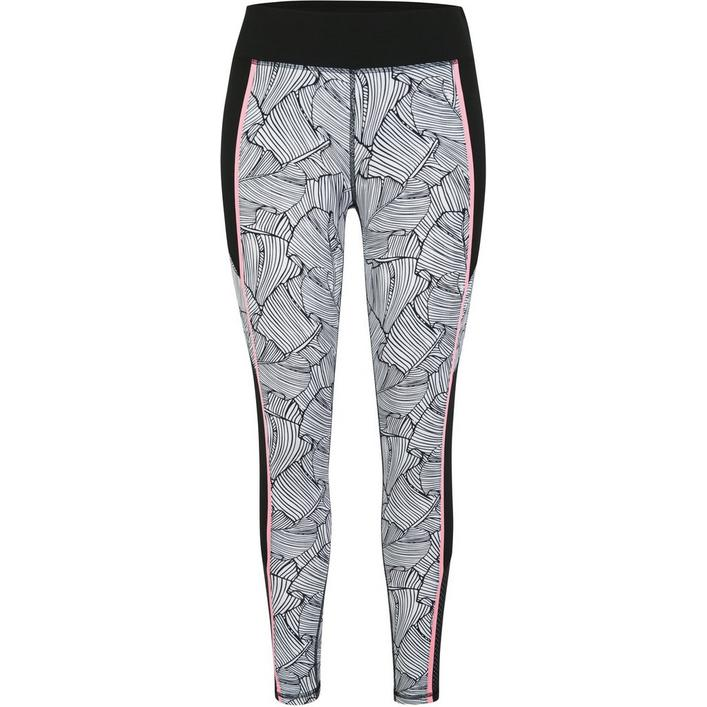 Women's Terry 27 Inch Inseam Activewear Printed Tights