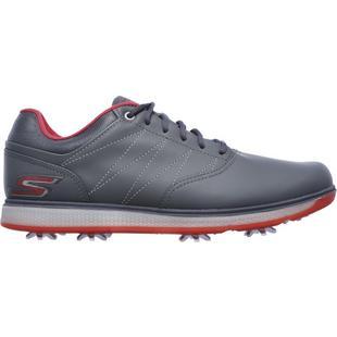 Men's Go Golf Pro V.3 Spiked Golf Shoe - DKGRY/RED