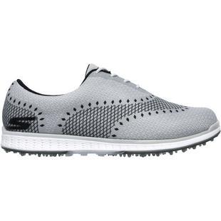Chaussures Go Golf Elite Ace sans crampons pour hommes - Gris foncé/Noir