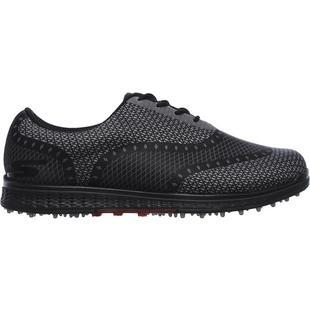 Men's Go Golf Elite Ace Spikeless Golf Shoe- BLK/GRY