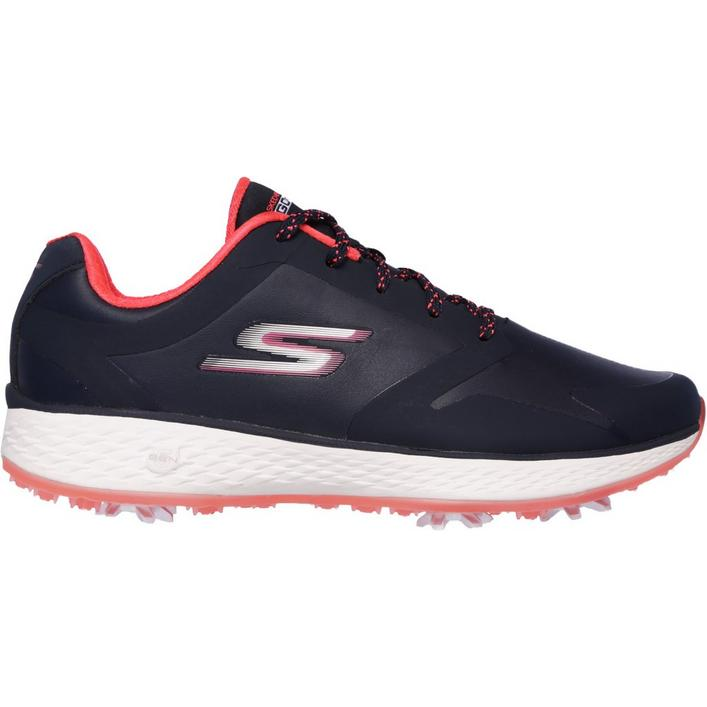 Women's Go Golf Pro Spiked Golf Shoe - NVY/PNK