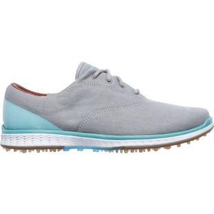 Women's Go Golf Elite 2 Canvas Oxford Spikeless Golf Shoe - DKGRY/BLU